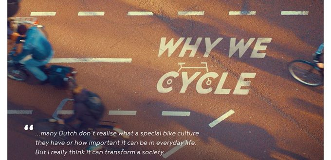 A3 WHY WE CYCLE POSTER