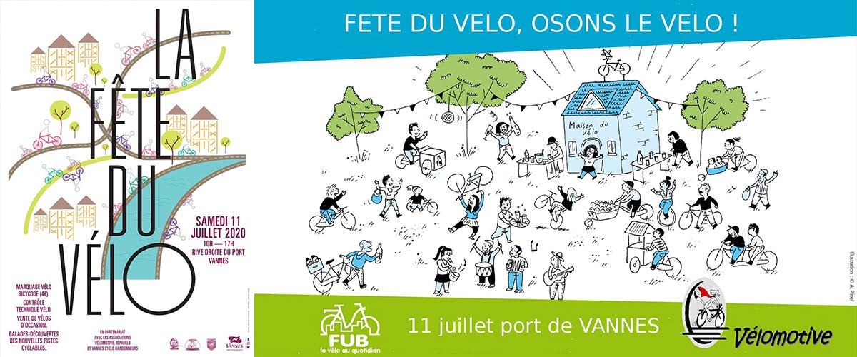 Fête du vélo samedi 11 juillet 2020